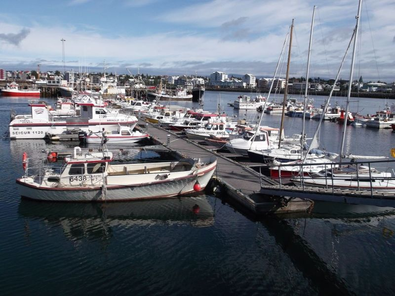Hafnarfjordur Harbour