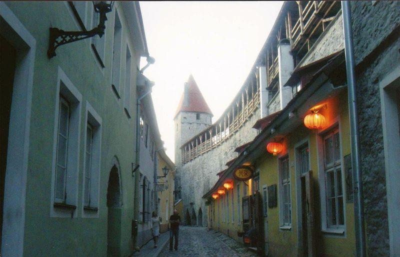 Tallin old town. - Tallinn