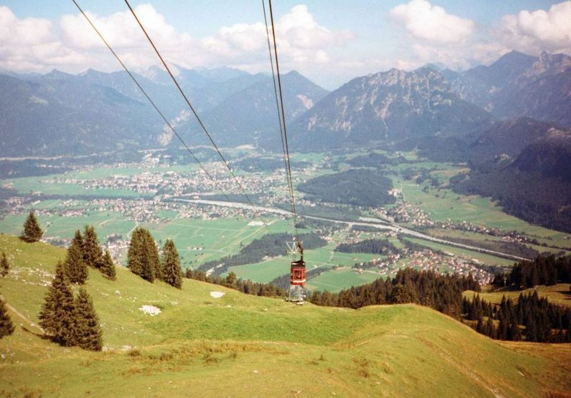 Cable Car In Hofen