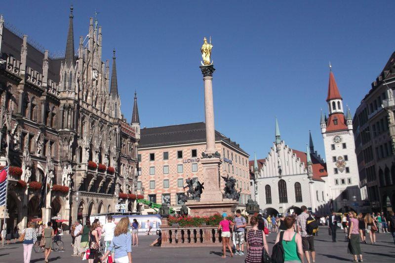 Marienplatz, Munich. - Munich