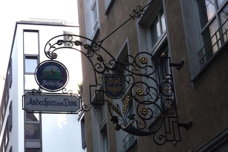 Signs, Munich. - Munich