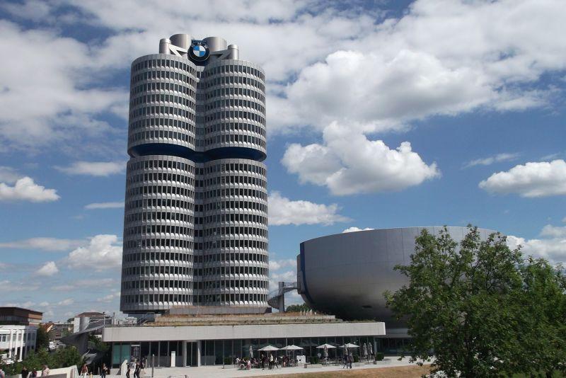 BMW Tower. - Munich