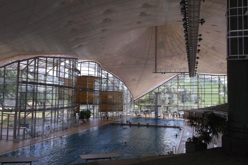 Olympic Swimming Pool - Munich