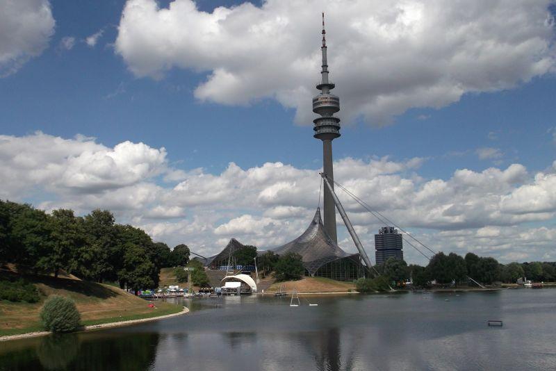 Olympic Tower. - Munich