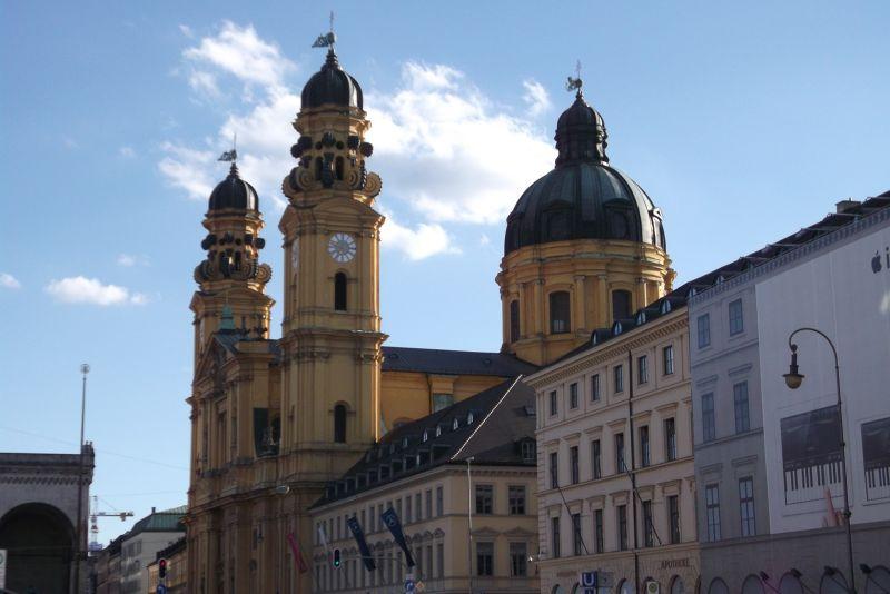 Theatinerkirche. - Munich