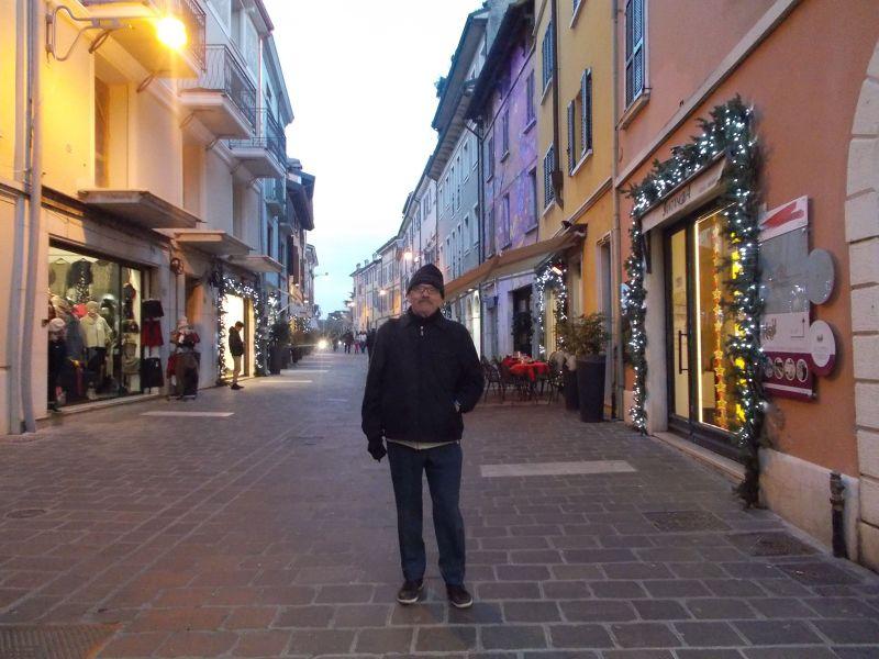 The streets of Desenzano. - Lago di Garda
