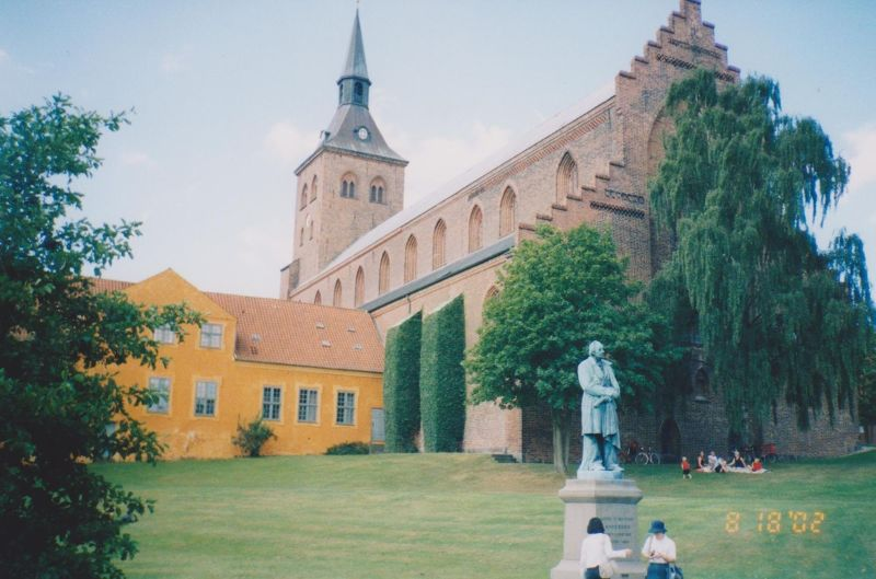 Odense Birthplace Of Hans Christian Andersen.