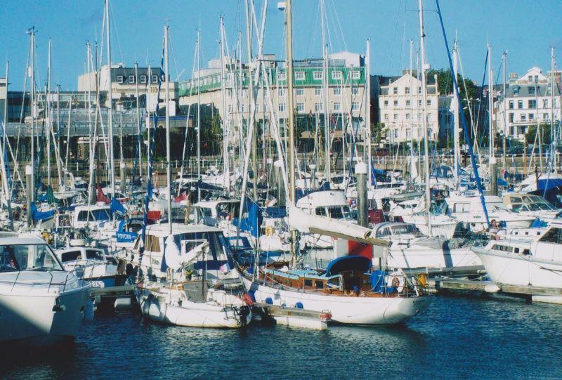 St Helier's Marina. - Jersey