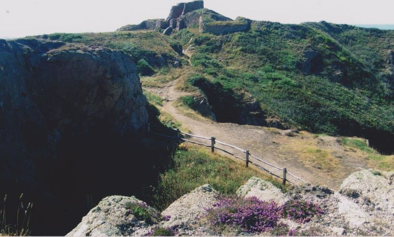 Grosnez Castle. - Jersey