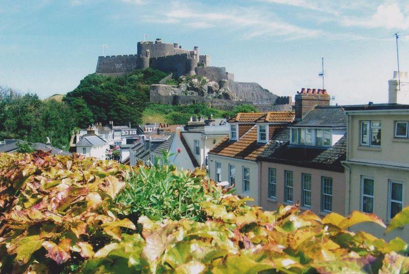 Mont Orguiel Castle. - Jersey