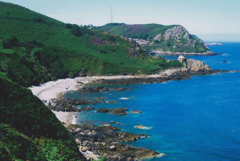 Coastal Scenery. - Jersey