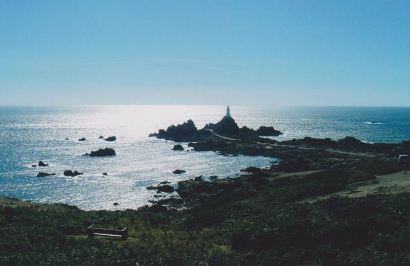 La Corbiere Lighthouse. - Jersey