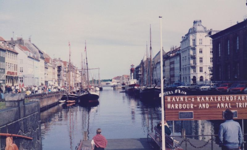 The Nyhavn - New Harbour.