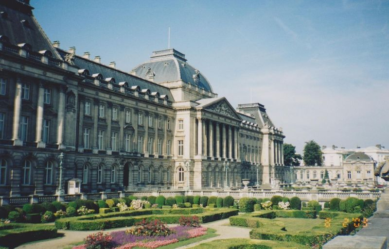 The Royal Palace. - Belgium