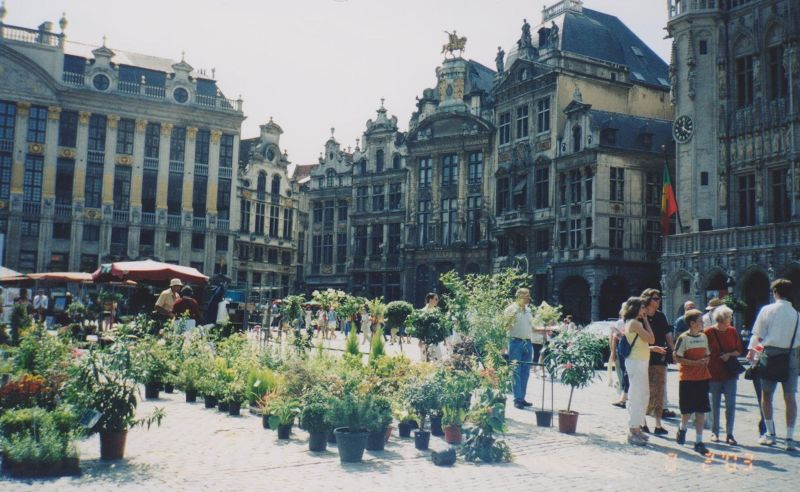 The Grand Place, Brussels. - Belgium