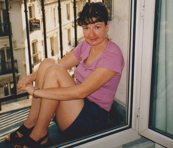 Me in our hotel - Paris