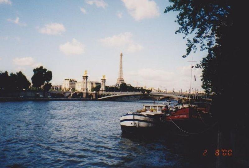 The Eiffel Tower. - Paris