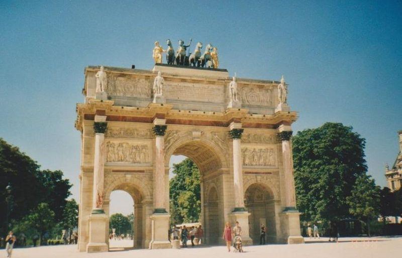 L'Arc de Triomphe de Carousel - Paris