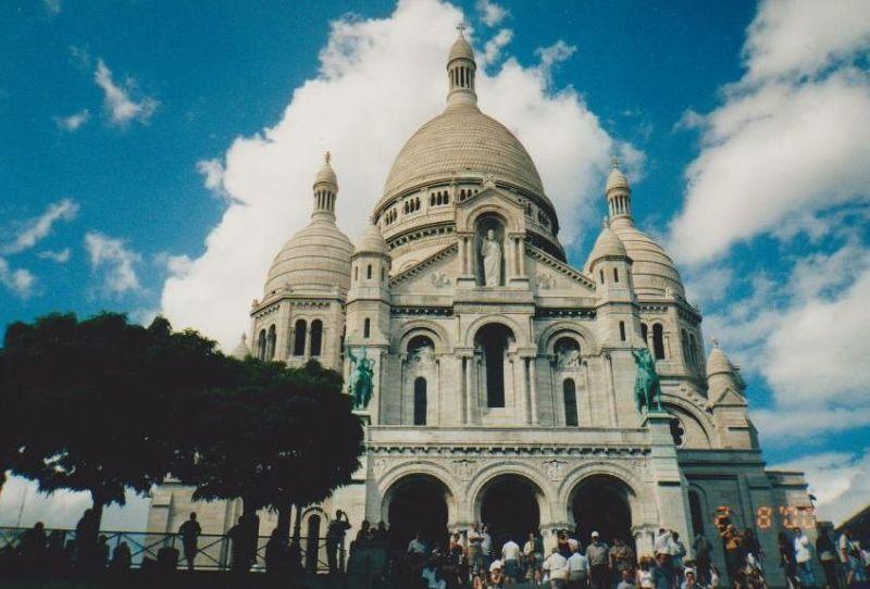 The Sacre Coeur - Paris