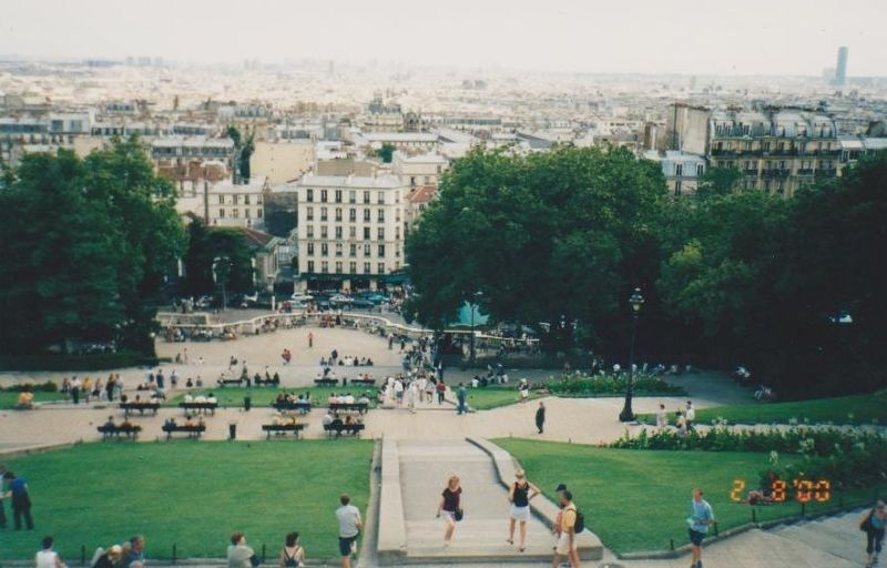View from the Sacre Coeur - Paris