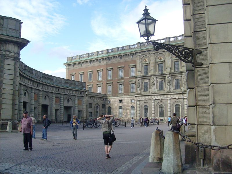 Royal Palace, Stockholm. - Stockholm