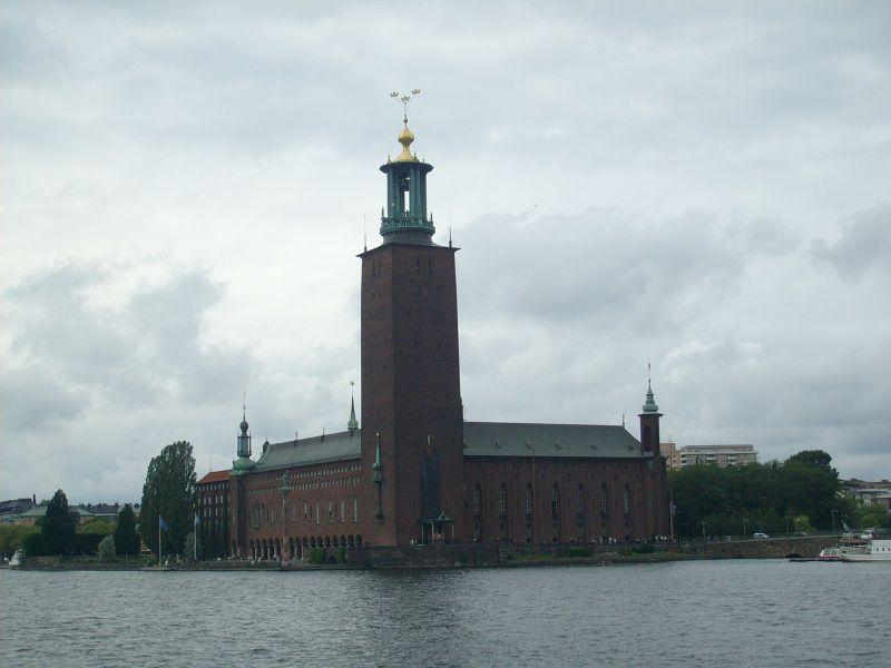 Stockholm City Hall. - Stockholm