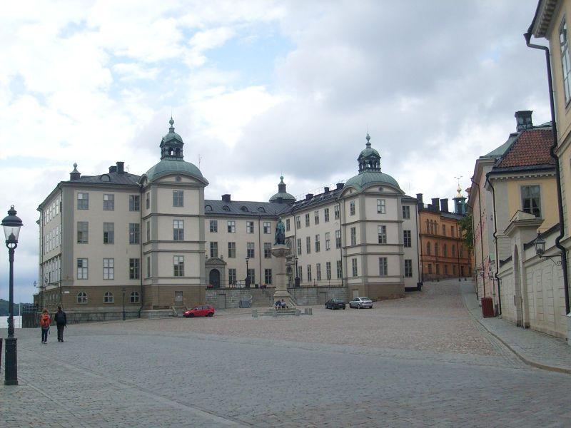 Wrangel Palace, Riddarholmen. - Stockholm