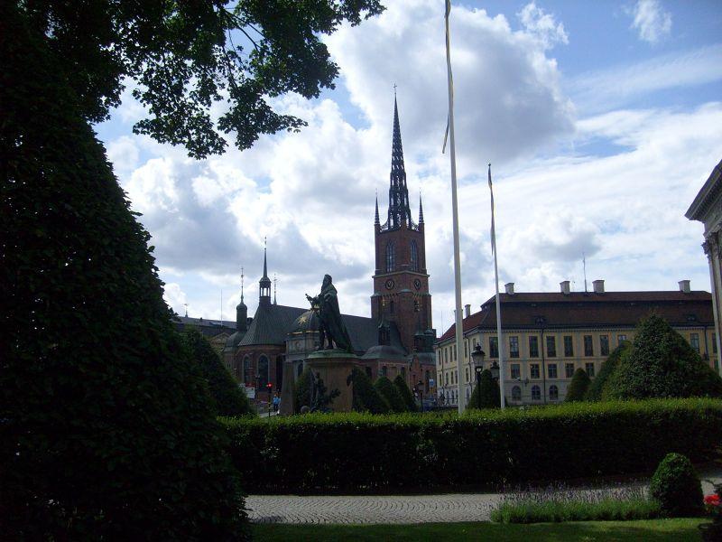Riddarholmskyrkan. - Stockholm