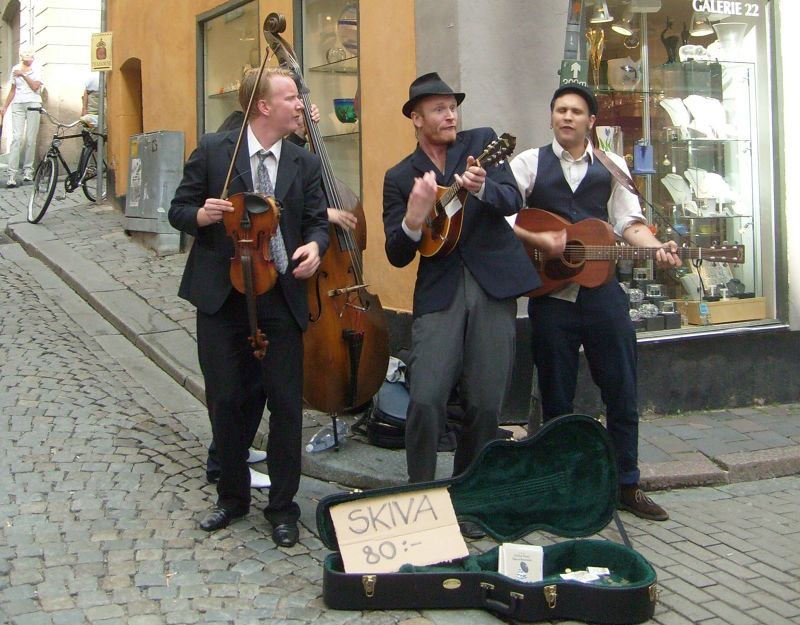 Street Musicians - Stockholm