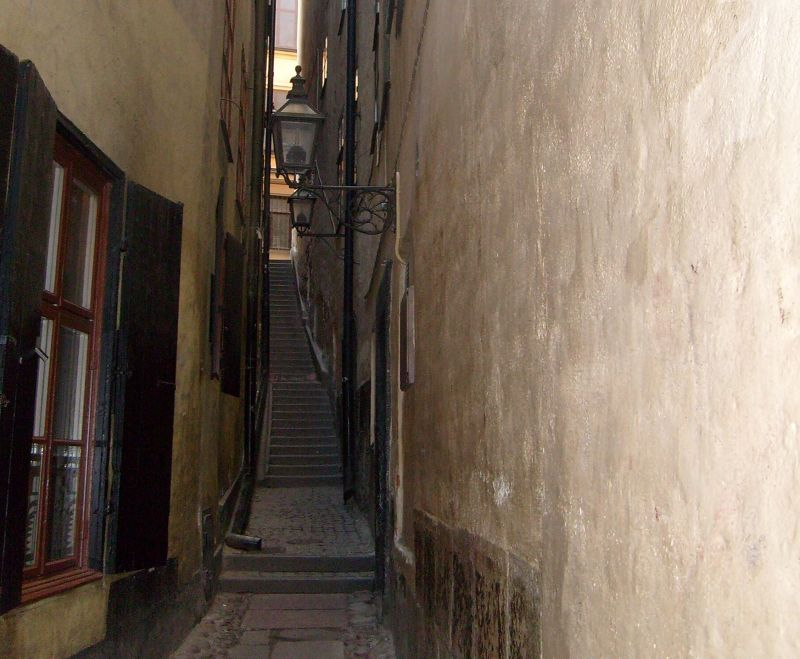 The Narrowest Alley - Stockholm