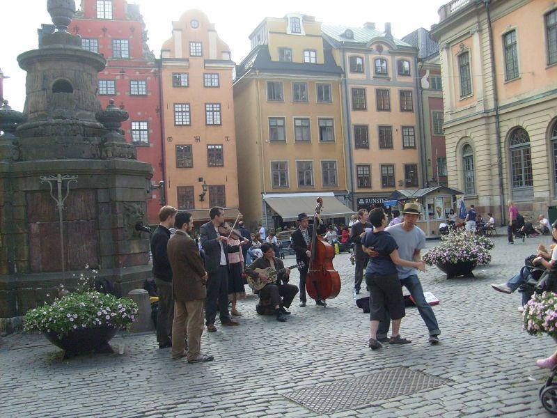 The Main Square - Stockholm