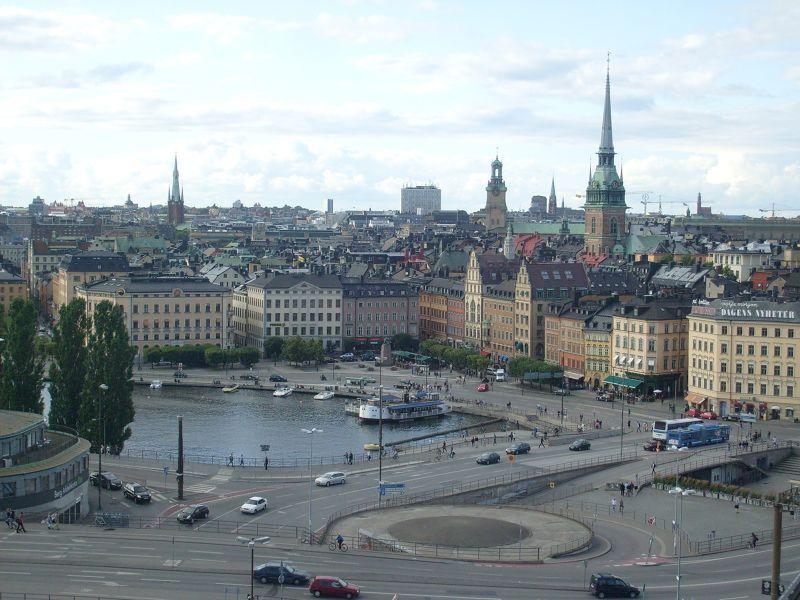 Views over Gamla Stan - Stockholm