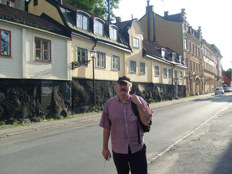 Fjällgatan. - Stockholm