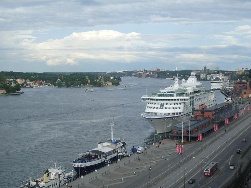 View over the Harbour. - Stockholm