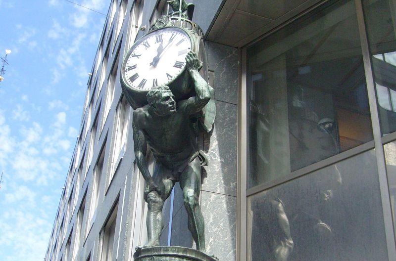 Stockholm Tidningen's Clock