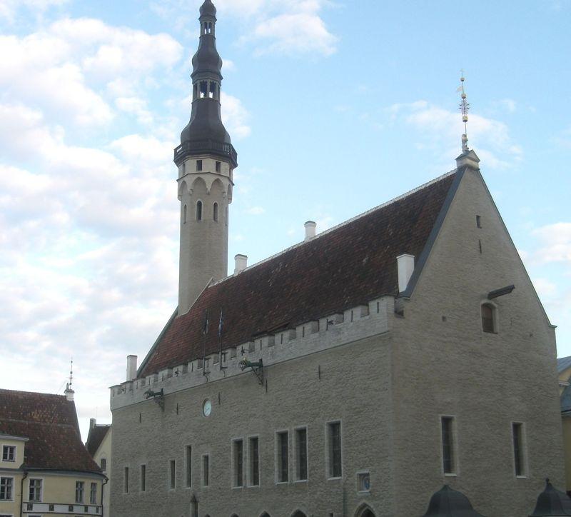 Tallinn's Town Hall. - Tallinn