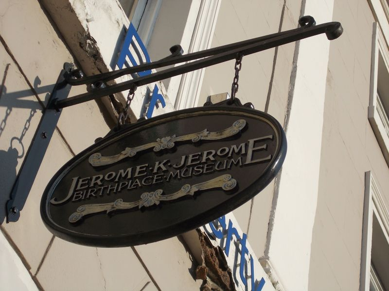 The Jerome K Jerome Museum.