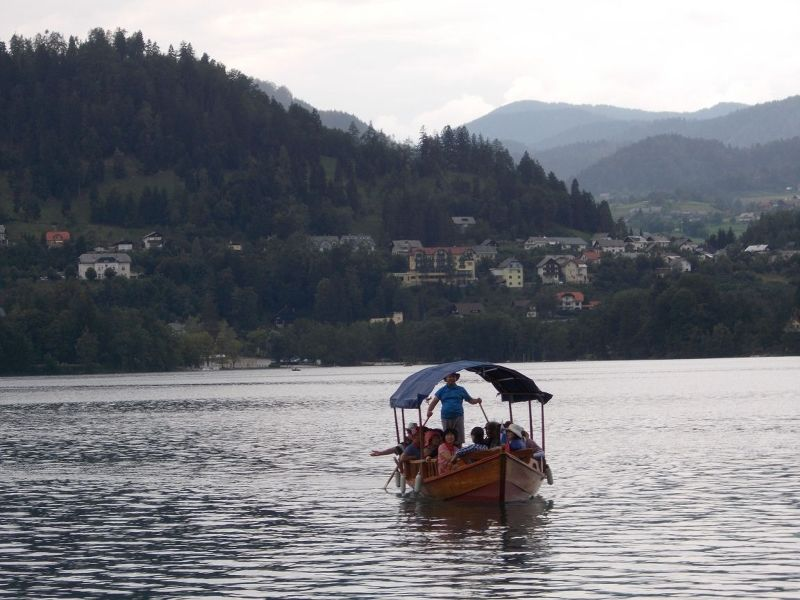 Pletna on Lake Bled - Bled
