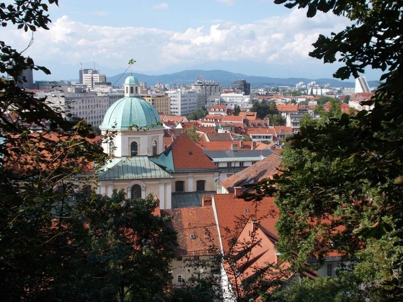 Views from the fortress. - Ljubljana