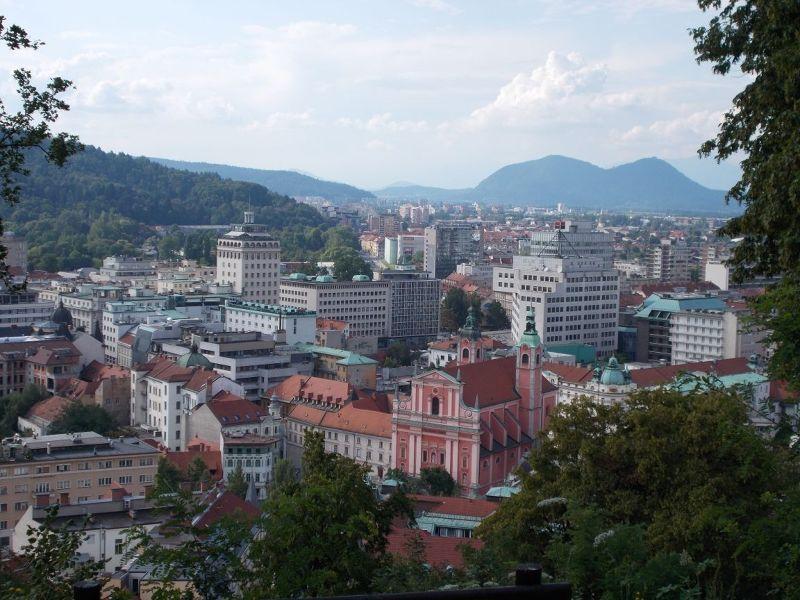 Views from the fortress. - Ljubljana