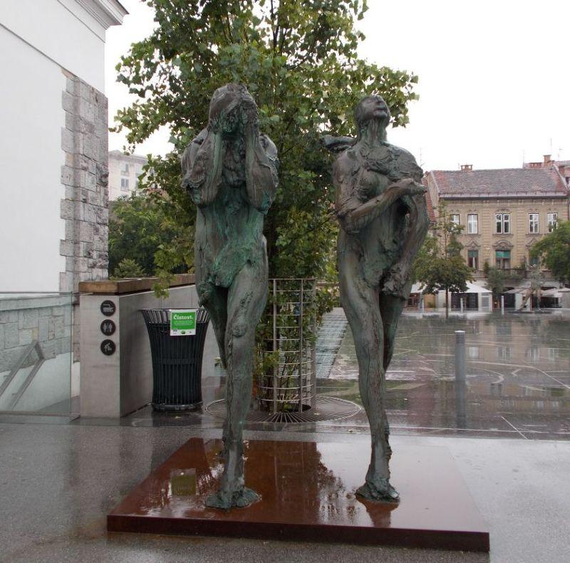 Butchers' Bridge - Ljubljana