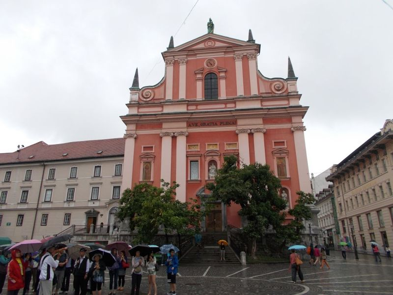 The franciscan Church - Ljubljana