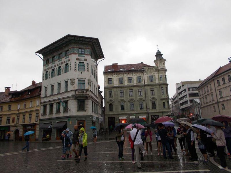 Preseren Square - Ljubljana