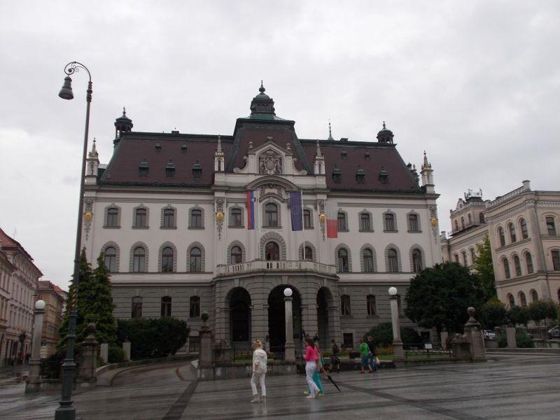 Kongresni Square - Ljubljana