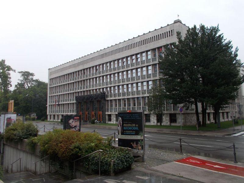 Parliament, Republic Square - Ljubljana