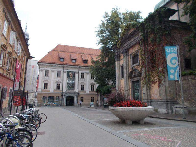 French Revolution Square - Ljubljana