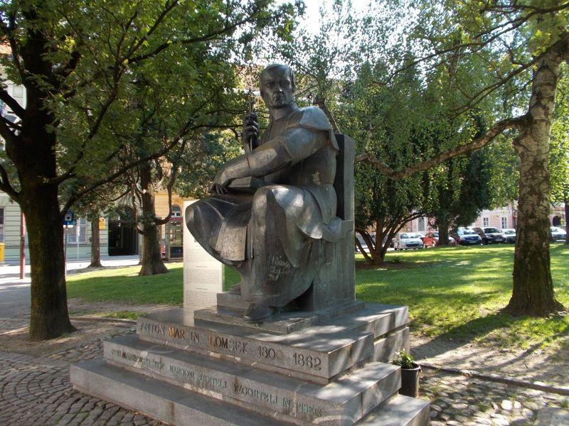 Bishop Statue - Maribor