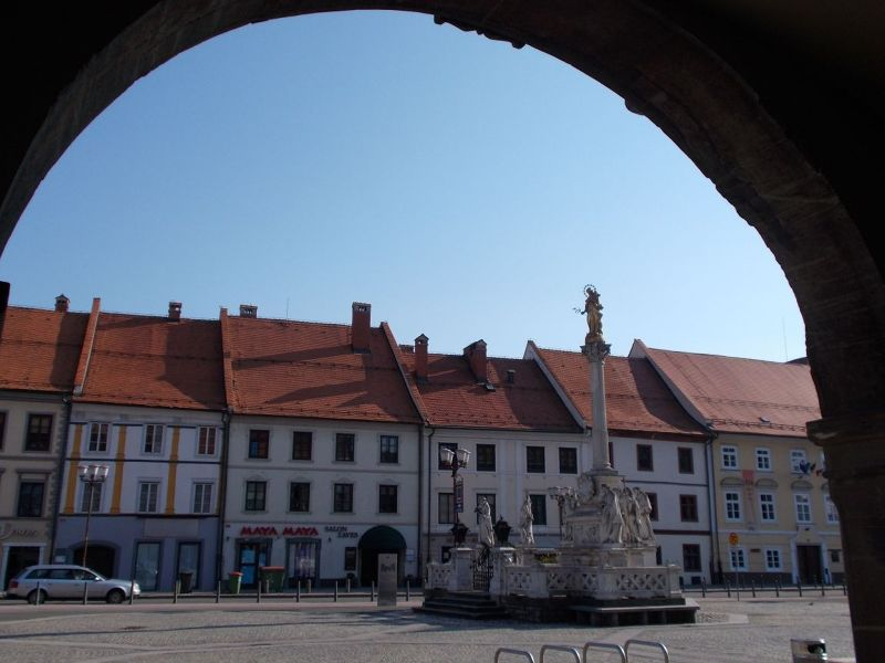 The town hall square - Maribor