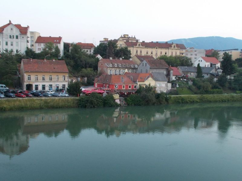 The Drava River - Maribor