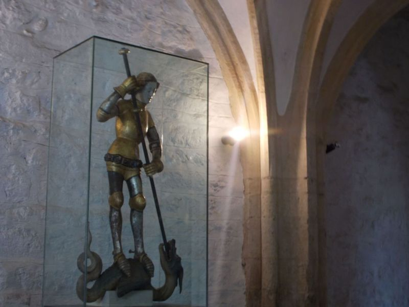 St George and the dragon. - Ptuj